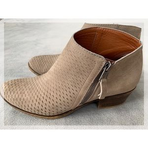 Lucky Brand Brielley Perforated Bootie Brindle 8.5